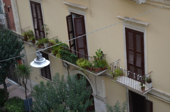 View from Palace Hotel Bari