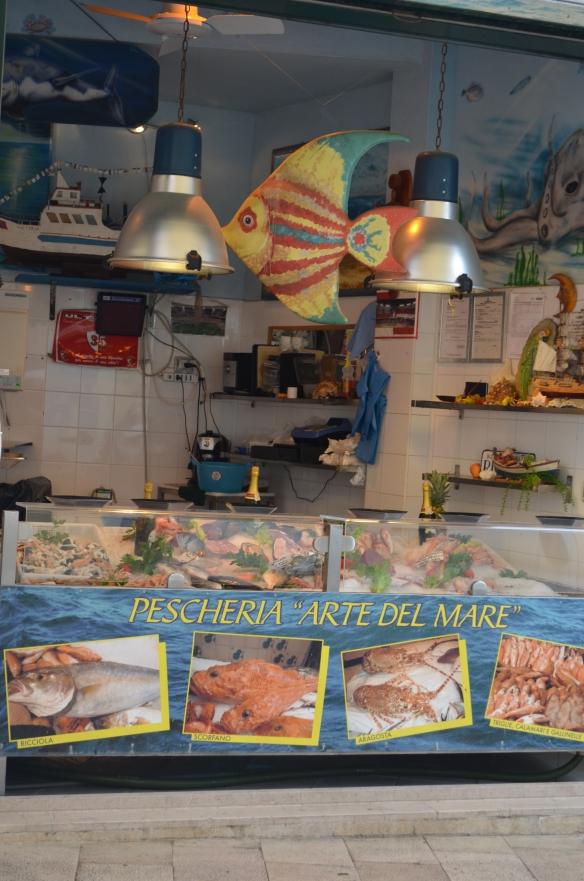 Matera fish stand