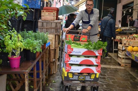 Market in Matera