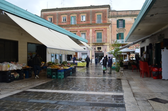 Matera local market