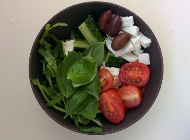 Greek style snack